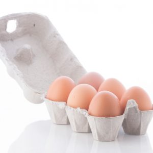 Half Dozen Free Range Chicken Eggs