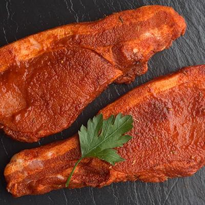 cajun pork steaks