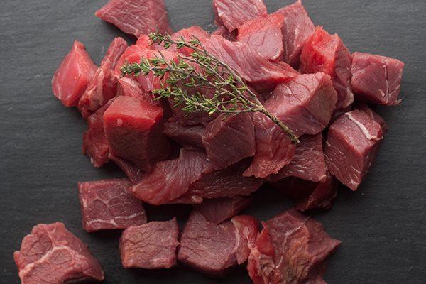 Diced Chuck Beef Steak