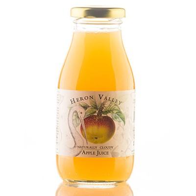 naturally cloudy apple juice small