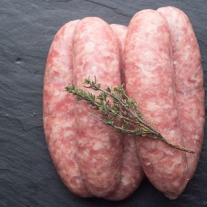 Pork and Apple Sausages (6)