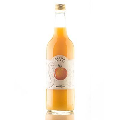 pure orange juice large