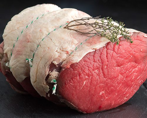 rolled top side beef