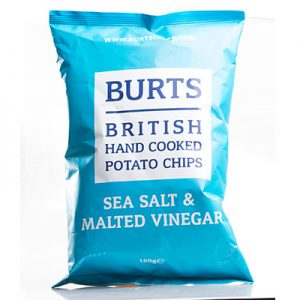 Sea Salt & Malted Vinegar Crisps