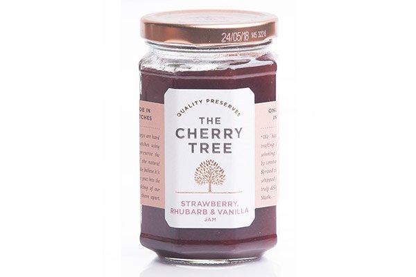 Strawberry Rhubarb & Vanilla Jam