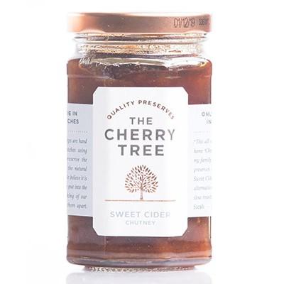 sweet cider chutney