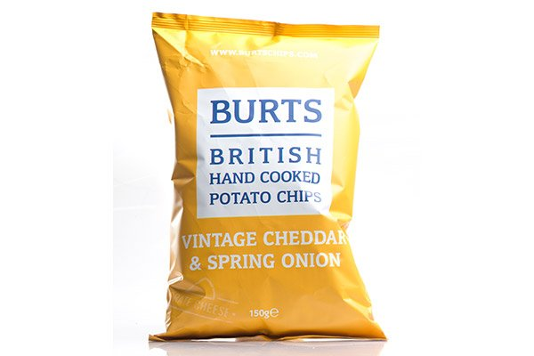 Vintage Cheddar & Spring Onion Crisps