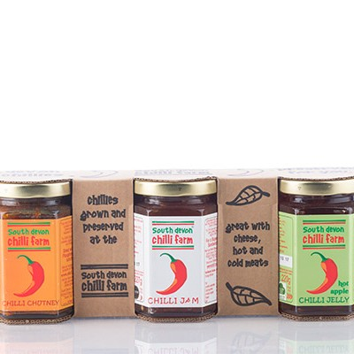 chilli farm jam jelly set