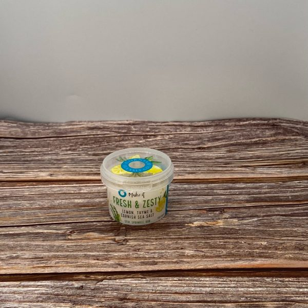 Fresh & Zesty Lemon & Thyme Sea Salt – 55g