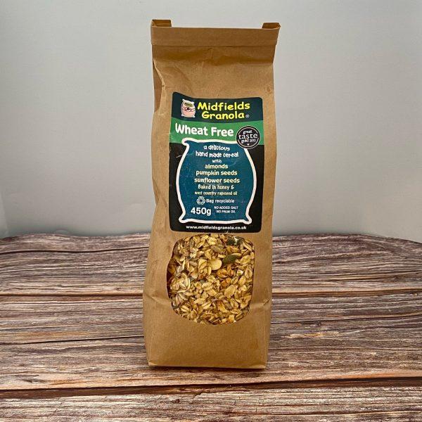 Midfields Granola Wheat Free