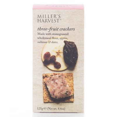 Millers Three Fruit Crackers