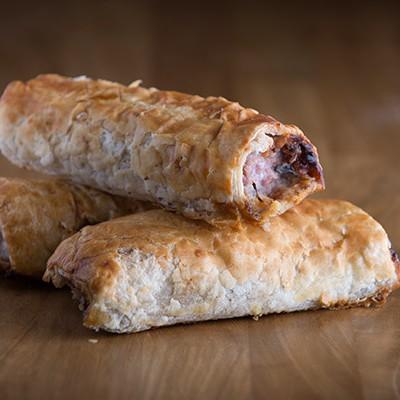 ploughmans sausage roll