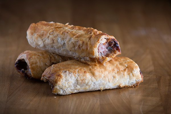 Homemade Ploughmans Sausage Roll