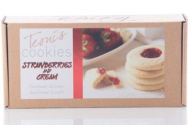 Teoni's Cookies Strawberries & cream