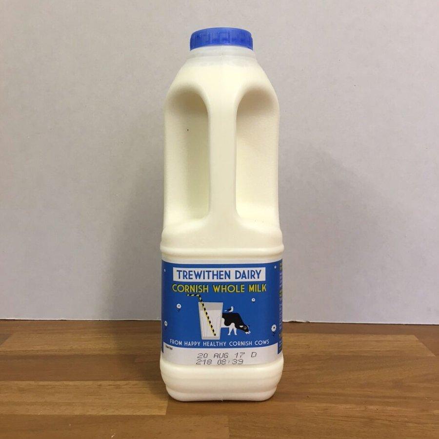 Trewithen 1l Whole Milk