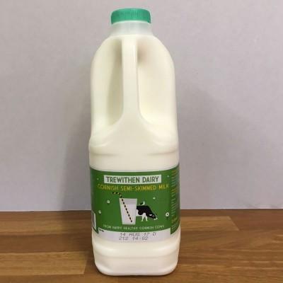 2lt Trewithian Semi Skimmed Milk