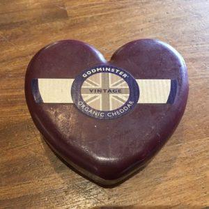 Godminster Vintage Cheddar Hearts