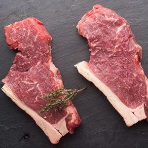 2 x 8oz Sirloin Steaks for £9.50