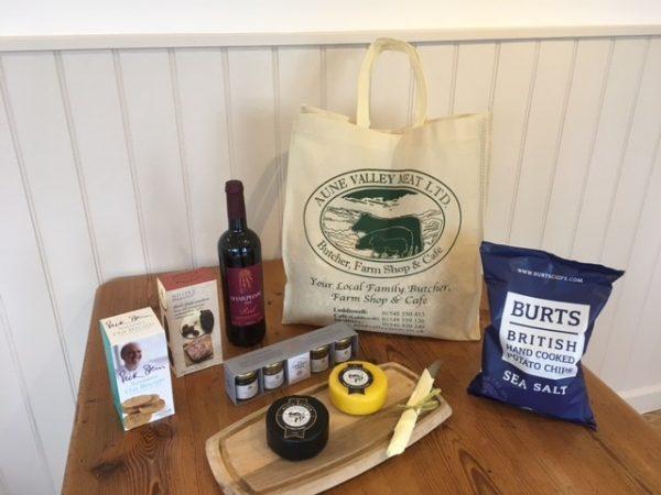 Cheese & Wine Welcome Hamper
