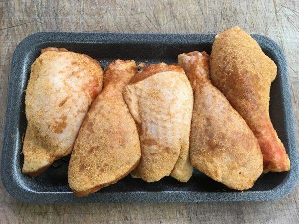 BBQ Chicken Portions