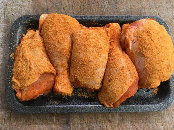 Cajun Chicken Portions