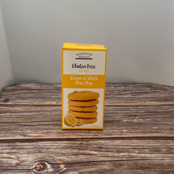 Farmhouse Gluten Free Lemon & Choc Biscuits