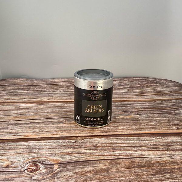 Green & Blacks Cocoa Powder.  125g